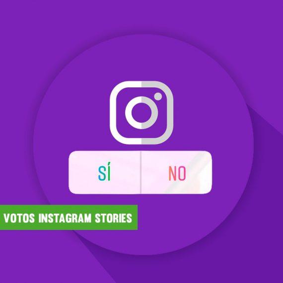 Comprar VOTOS Instagram Stories